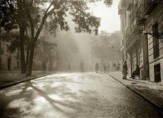 La Plaza de la Paja en los años 20.