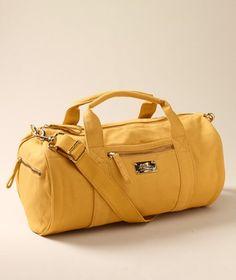 L.L. Bean Signature // #travel bag #yellow