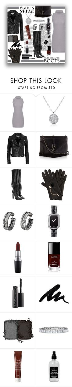 """""""walk in style"""" by ztugceuslu ❤ liked on Polyvore featuring Anne Sisteron, IRO, Yves Saint Laurent, Henri Bendel, Chanel, MAC Cosmetics, NARS Cosmetics, Fresh and Little Barn Apothecary"""