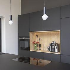 Modern Kitchen Lighting, Modern Kitchen Design, Interior Design Kitchen, Farmhouse Kitchen Decor, Home Decor Kitchen, Home Kitchens, Kitchen Ideas, Open Kitchen And Living Room, Kitchen On A Budget