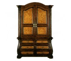 Image detail for -... TV armoire | Antique Wood Entertainment Centers | Antique Furniture