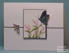 Butterfly Out of the Box by bon2stamp - Cards and Paper Crafts at Splitcoaststampers
