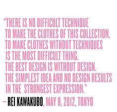 Rei Kawakubo (Comme des Garçons) - V Magazine