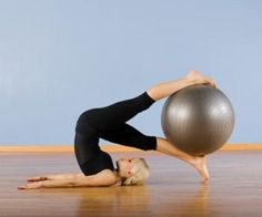 pilates and swiss ball
