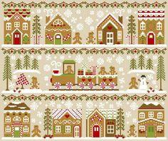 Sweet Treats: Gingerbread Inspired Cross Stitch Patterns