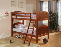 Coaster Bunks Twin Over Twin Bunk Bed Las Vegas Furniture Online | LasVegasFurnitureOnline | Lasvegasfurnitureonline.com
