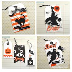 Halloween Phrases and Labels Free Printable Download