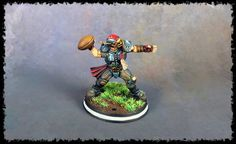I have finished painting my Human Blood Bowl team, the Titan Bay Thunderhawks. I'm really happy with how the team has come out. Fantasy Football Rings, Fantasy Football Funny, Fantasy Football Champion, Football Awards, Football Soccer, Blood Bowl Teams, Blood Bowl Miniatures, Award Display, 3d Printer Projects