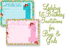 Free printable ladybug birthday invitation ladybugs pinterest first birthday invitation templates free photo birthday invitation template 23 free psd vector eps ai first birthday invitation templates free stopboris Images