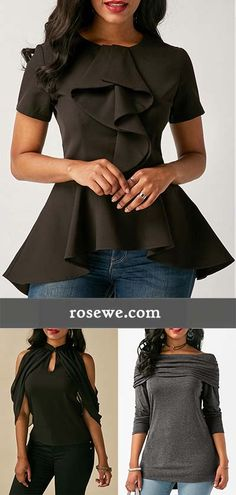 2017 fall blouse for women at rosewe.com.