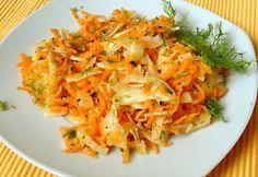 Édesköményes sárgarépa-saláta