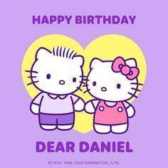 Happy Birthday Dear, Hello Kitty Birthday, Sanrio Characters, Fictional Characters, Kawaii, Feelings, Random Things, Beer, Wallpapers