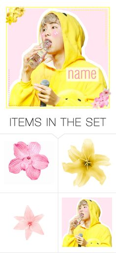"""""""open icon"""" by carebear-chan ❤ liked on Polyvore featuring art, kpop, bts, BangtanBoys, rapmonster and Namjoon"""