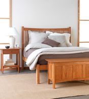 Solid Wood Furniture Handmade in Vermont. Cherry, Walnut, Maple and Oak.  Living Room, Dining Room, Bedroom, Office. Several Different Styles.