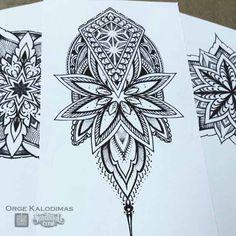 Diverse Geometry www.saketattoo.com/orge