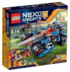 Comparez les prix du LEGO Nexo Knights 70315 L'épée rugissante de Clay avant de l'acheter ! Infos, description, images, vidéos et notices du LEGO 70315 L'épée rugissante de Clay sur Avenue de la brique