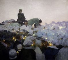 Gaston La Touche: Pardon in Brittany