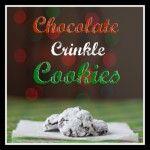 Chocolate Crinkle Cookies  - Complete Dinner Pack