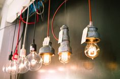 industrial pendants-kitchen