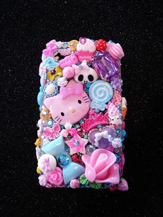 Kawaii Phone Case by Josie Stevens $250 I put this on my amazon wish list forever ago. I like her darker, rocker, skull stuff a bit more!! Need to make more moneys!!