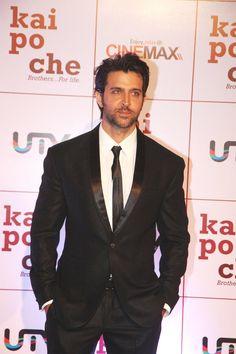 Hrithik Roshan at KAI Po Che Movie Premiere.