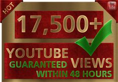 I found this collection on Fiverr: Youtube Views KILLER Gigs of The Month