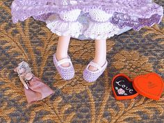Crochet Lalaloopsy Shoes!