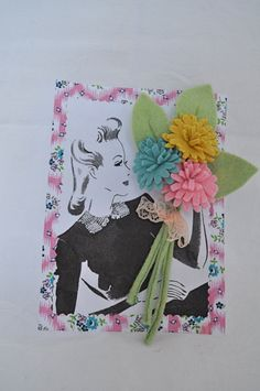 Log in to your Etsy account. Making Fabric Flowers, Felt Flowers, Bloom Where Youre Planted, Make Do And Mend, Brooches Handmade, Crafts For Girls, Vintage Crafts, Felt Toys, Flower Power