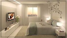 170 comfortable romantic bedroom decor design and ideas 26 Dream Bedroom, Home Bedroom, Bedroom Decor, Bedrooms, Bedroom Ideas, Master Room, Suites, New Room, House Design
