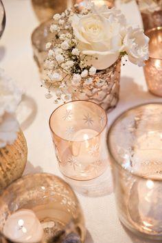 Glamorous Gatsby Kent Wedding Rose Flowers Candles http://kerryannduffy.com/