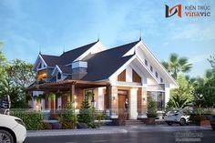 Dream Home Design, My Dream Home, Good House, My House, Small Villa, Thai House, Bungalow House Design, Tropical Houses, Classic House