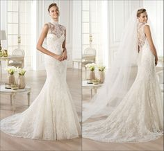lace wedding dresses with cap sleeves:  1. 395  tulle,lace  2.30 days production.  3.custom made size,color