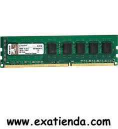Ya disponible Ddr3 Kingston 2gb/1333   (por sólo 30.89 € IVA incluído):   -Memoria interna - 2048 MB -Tipo de memoria interna - DDR3-SDRAM -Factor de forma - DIMM 240-pin -Velocidad del reloj de bus -1333MHz -PC1333       Garantía de 24 meses.  http://www.exabyteinformatica.com/tienda/4021-ddr3-kingston-2gb-1333 #ddr3 #exabyteinformatica