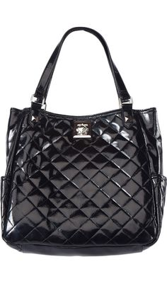 Black Shop Around Tote by Kenneth Cole REACTION: I love a quilted bag, and even more I love Kenneth Cole. Yum.