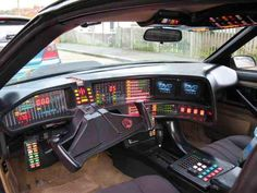 KITT interior. Are we really that far from this car's imagined capabilities today?