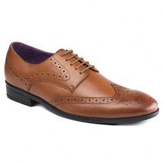 Lancetti ZM3775 Tan Shoes