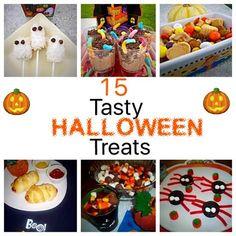 Boo! 15 Tasty Halloween Treats