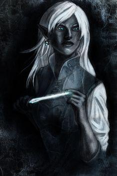 "char-portraits: ""Gleam by TheWildGrape """