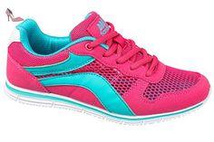 gibra , Baskets pour femme - rose - Rose/turquoise, - Chaussures gibra (*Partner-Link)