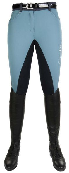 HKM Seaside Wave Breeches - theconnectedrider.com