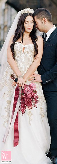 Romantic gold wedding dress for a destination wedding! #KellyFaetanini Spring 2017 http://www.kellyfaetanini.com/spring-2017/