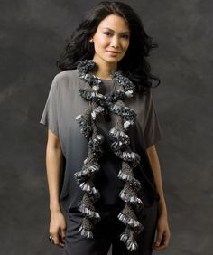 Ruffle Chips Scarf