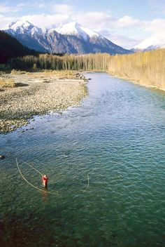 Fly fishing, doesn't this look peaceful...