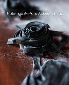 How to make Rolf & Daughters' squid-ink tagliatelle.