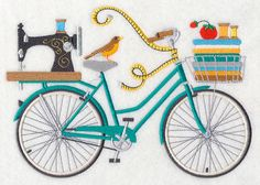 Crazy for Crafting Bicycle