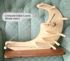 """The inkle loom, although not itself """"period"""" to the time study within the Society for Creative Anachronism (SCA), is a useful tool"""