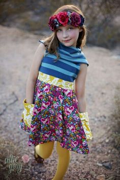 Alba dress pdf pattern-Violette Field Threads