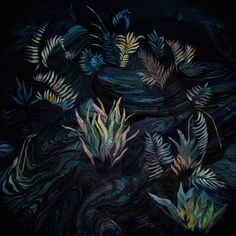 """Katharina Zahl, """"Ash and Spurs"""" Acrylic on linen, Acrylic Canvas, Plant Leaves, Illustration Art, Photoshop, Graphic Design, Drawings, Flowers, Artist, Artwork"""