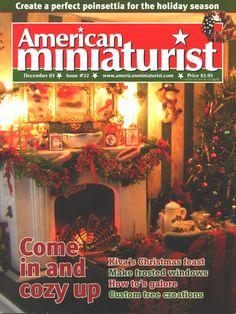 Kathy's Miniatures - American Miniaturist Magazine, December 2005