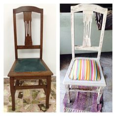 silla reciclada